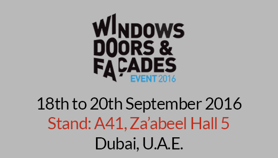 Alpha Plus will be exhibit its complete range of NEXUS products at the Windows, Doors & Façades Event. Our stand will be located in Za'abeel Hall 5, Stand no: A41. The event…