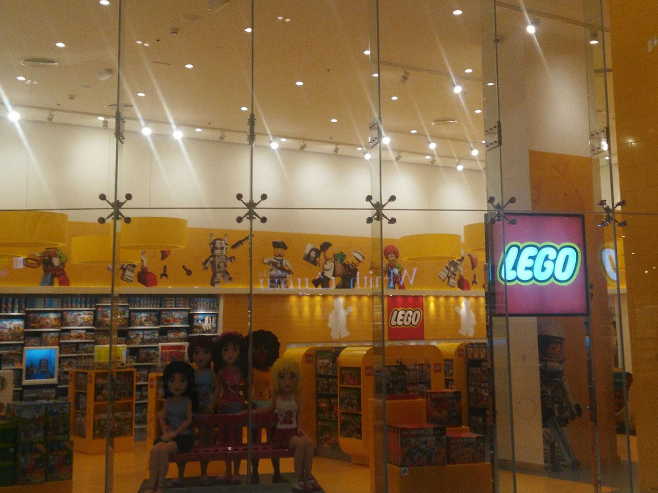 Lego Store, Dubai Mall