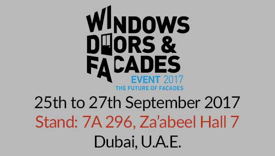 Alpha Plus will be exhibit its complete range of NEXUS products at the Windows, Doors & Façades Event. Our stand will be located in Za'abeel Hall 7, Stand no: 7A…